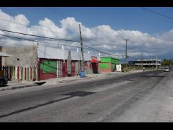 A section of Port Henderson Road in Portmore, St Catherine, more popularly known as Back Road.