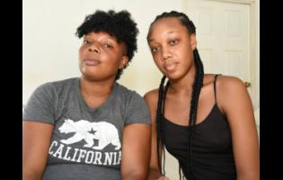 Siblings Gillian Rose-Mckoy (left) and Abigail Junior believe that their mother Beryl Junior, who was admitted to hospital for asthma issues, contracted COVID-19 there and later died.