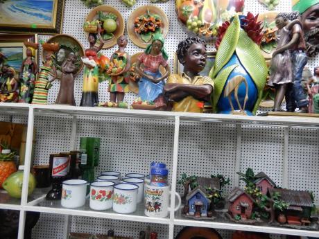 Items on display at Kingston Craft Market.