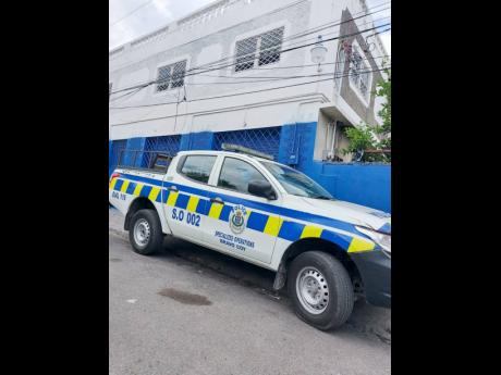 Franklyn Town Police Station.